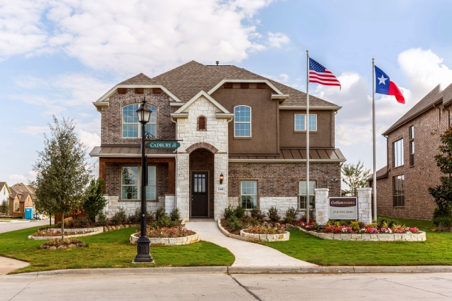 Beautiful model home in Devonshire, near Dallas, Texas